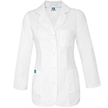 Albertson's Women's Classic Long Sleeve Consultation RX Coat (Princess Cut)