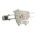 Shopping Cart Tie Clasp