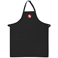 2 Pocket Bib Apron with Logo
